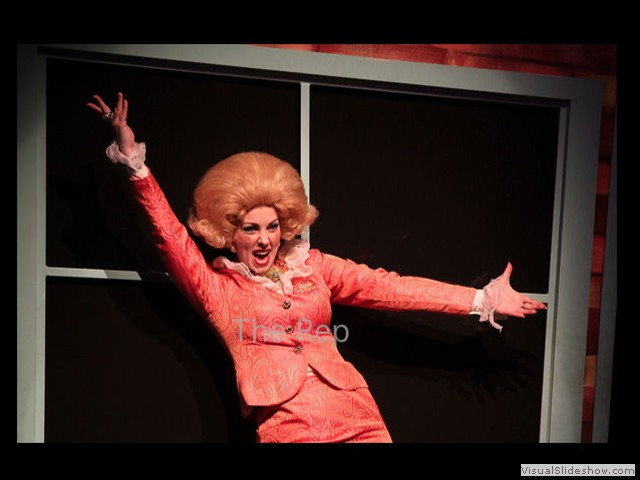 "Andi as Velma in ""Hairspray."" (Photo courtesy of Arkansas Repertory Theatre)"