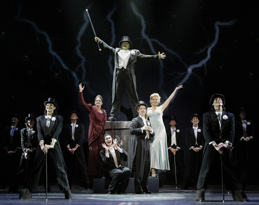 "The cast of ""Young Frankenstein"" at Arizona Broadway Theatre. (Photo by Mike Benedetto)"