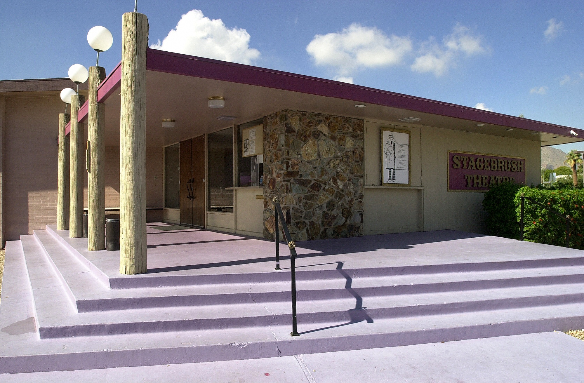 Stagebrush Theatre, home of Greasepaint Youtheatre and Scottsdale Community Players. (Photo credit unknown)