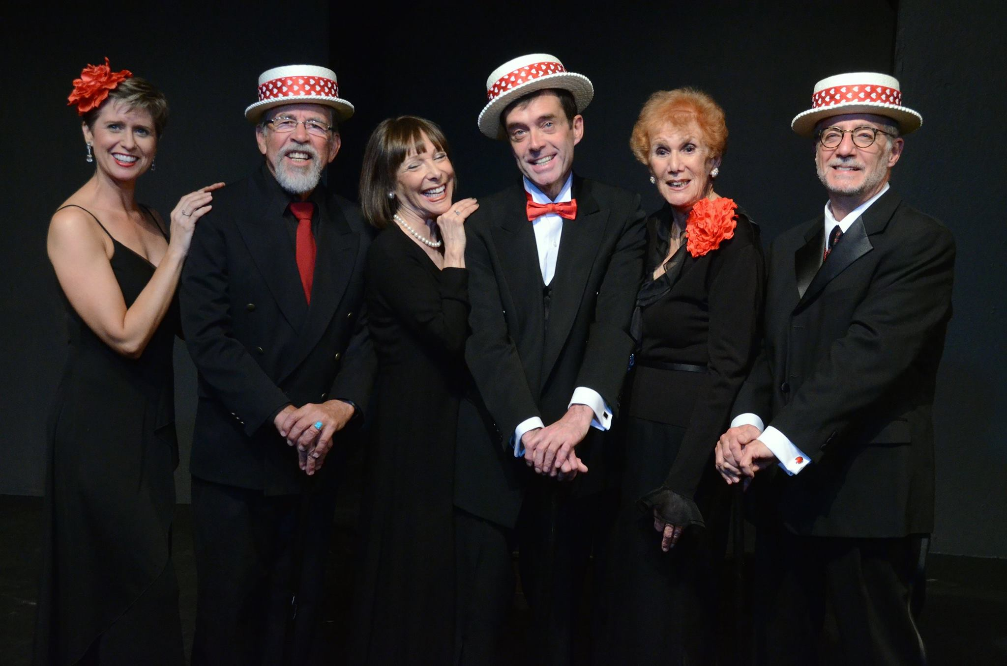 "The cast of ""Hart to Heart"" at Theatre Artists Studio, 2014. (Photo by Mark Gluckman)"