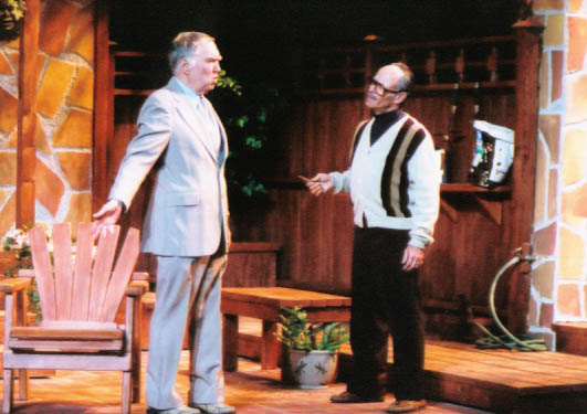 "Benjamin Stewart and David Barker in ""The Value of Names"" at Arizona Jewish Theatre Company. (Photo courtesy of Janet Arnold)"