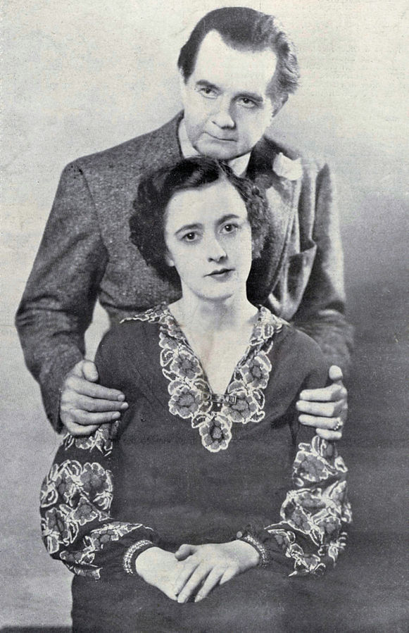 Paul Gilmore and his daughter Regina, who acted under the stage name, Virginia Gilmore.