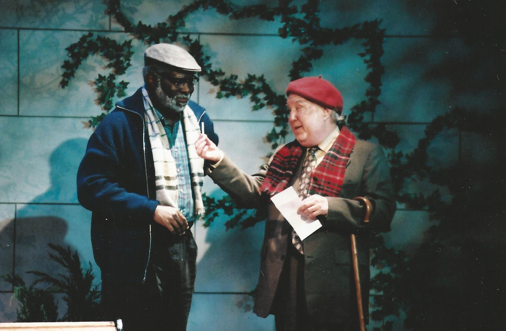 "Ken Love and Benjamin Stewart in ""I'm Not Rappaport"" for Arizona Jewish Theatre Company. (Photo courtesy of Janet Arnold)"