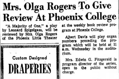 Arizona Republic, Feb. 12, 1961