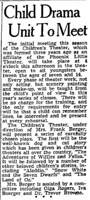 Arizona Republic, Oct. 20, 1938