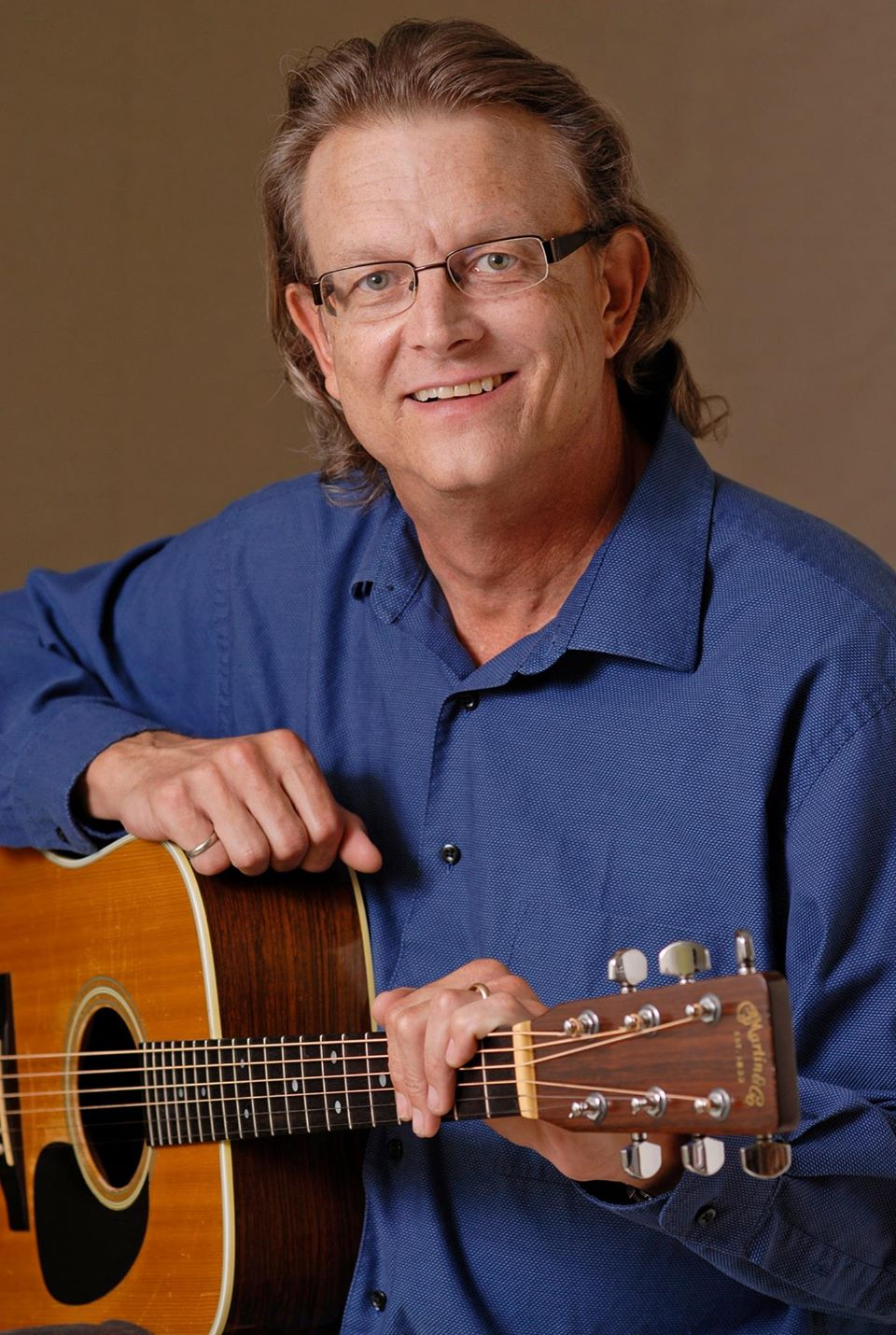 Doug Durant in a portrait taken by his wife, Laura.