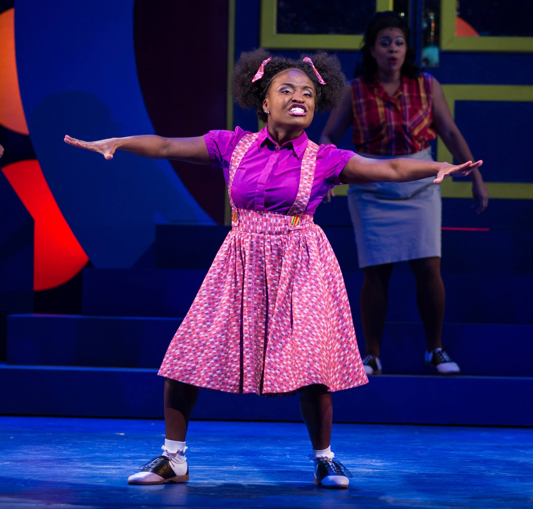 "Brittney Mack in Arizona Broadway Theatre's 2013 production of ""Hairspray."" (Photo credit unknown)"