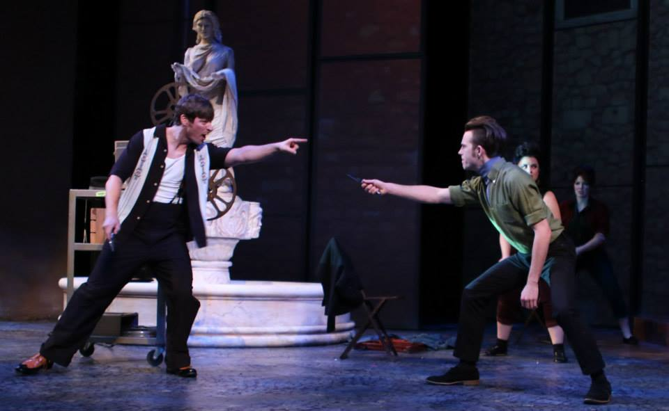 Arizona Theatre Company. 20-15. Romeo and Juliet. Kyle Sorrell, Paul Thomson, Brenna Welsh and Silvia Marie Vannoy.