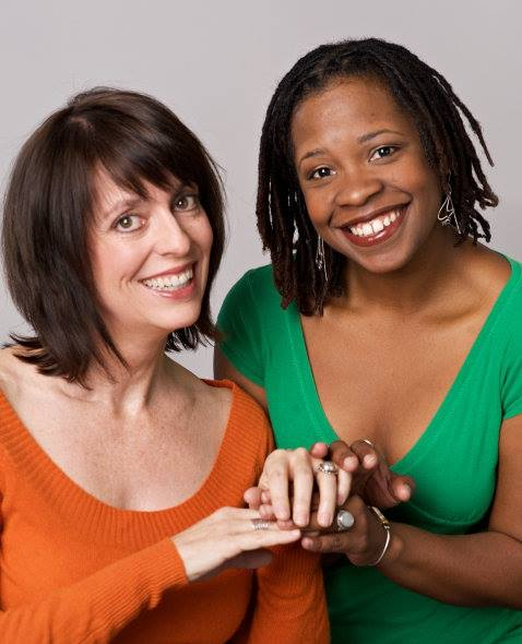 Katie McFadzen and Yolanda London are invaluable members of the Childsplay family. Photo credit not provided.