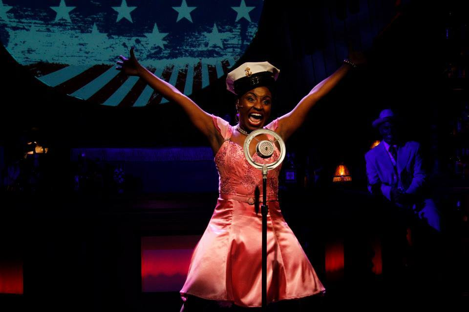"Brittney Mack in a scene from ""Ain't Misbehavin'."" (Photo by Sara Chambers)"