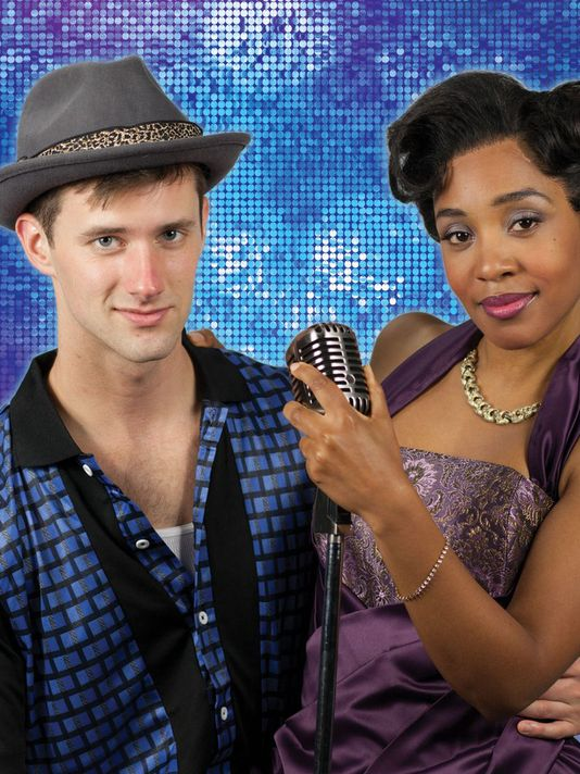 "CJ Pawlikowski and Tia DeShazor star in the Phoenix Theatre production of ""Memphis.""(Photo: Phoenix Theatre)"