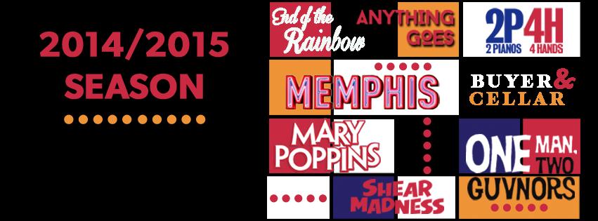 Phoenix Theatre. 2014-2015 Season. 001