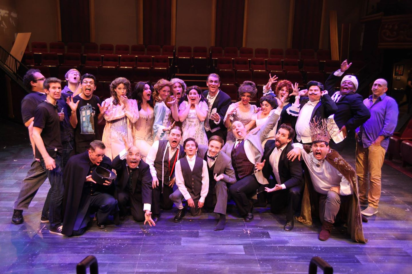 "Hale Centre Theatre. 2014. Cast of ""The Phantom of the Opera."" (Photo from Julian-Sebastian Pena's Facebook Page)"