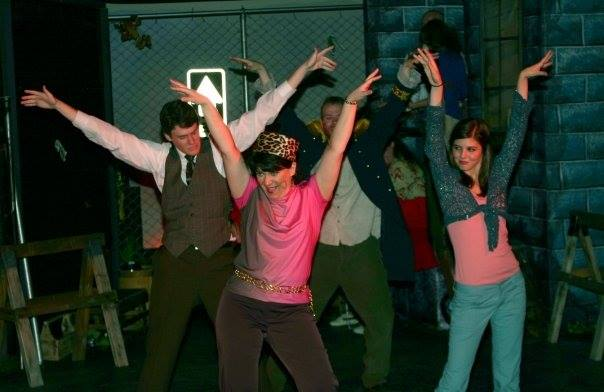 Fountain Hills Theatre. 2006. Godspell. Michael C. Stewart, Lizz Reeves Fidler, Kellen Hunt. Photo credit unknown.