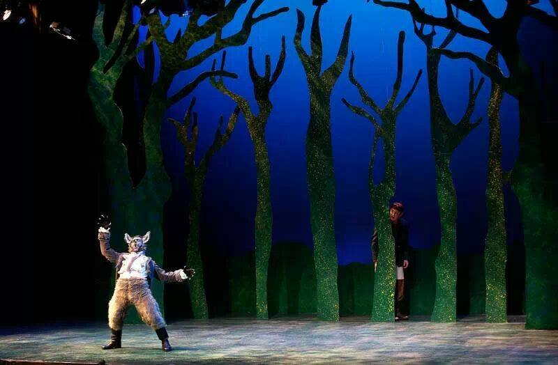 Grand Canyon University. 2014. Into the Woods. Cole Brackney. Photo credit not provided.