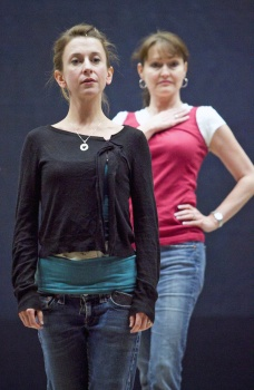 Jeannie Shubitz Fleck and Janine Smith were understudies for the Phoenix Theatre 2011 production of 'Nine.' (Photo by Michael Schennum,The Arizona Republic)