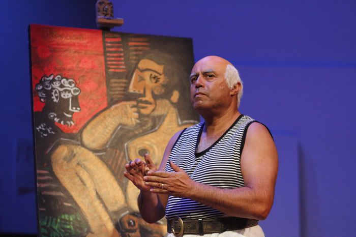 Arizona Theatre Company. 2015. A Weekend with Picasso. Herbert Siguenza