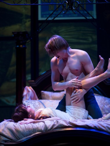 Arizona Theatre. 2015. Romeo & Juliet. Chelsea Kurtz, Paul David Story. Photographer not credited.