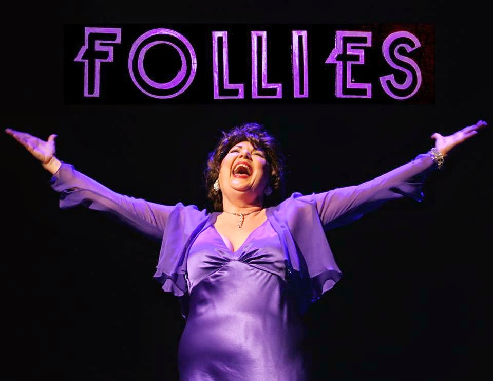 Kelli James in Theater Works' 2015 production of ''Follies.'' Photo by Alastair Gamble.