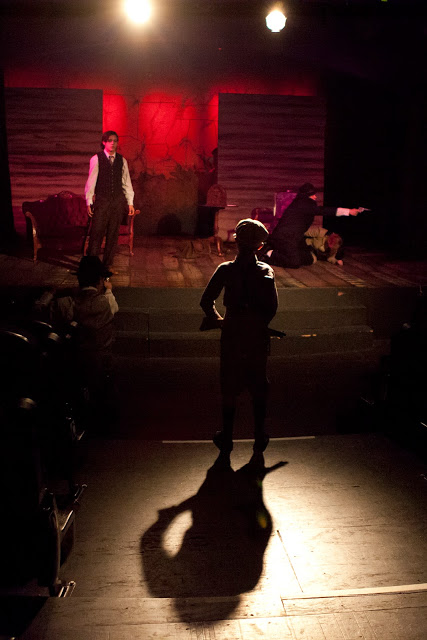 Actors Youth Theatre. 2015. Bonnie & Clyde. (Photo by Lisa Webb, Southwest Shots Photography)