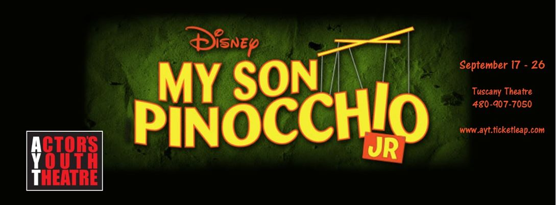 "2015. Actor's Youth Theatre. ""My Son Pinocchio."""