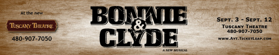 "Actors Youth Theatre debuted a new musical, ""Bonnie and Clyde,"" in September, 2015"