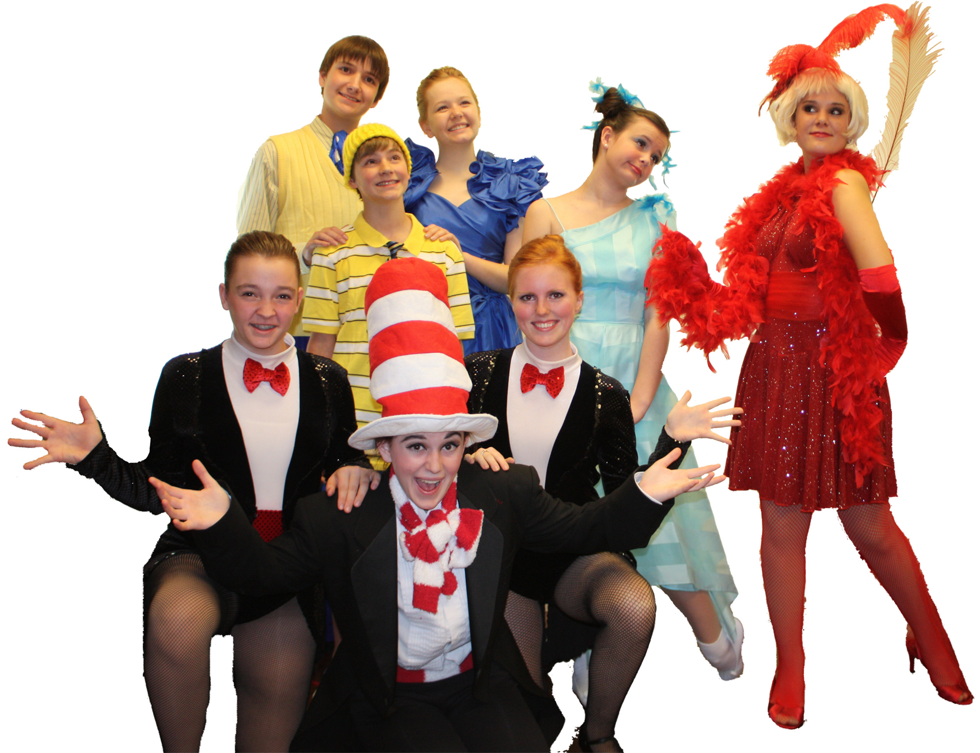 Musical Theatre of Anthem. 2012. Cast members from Seussical, Jr. (Photo by Olga Smirnoff)