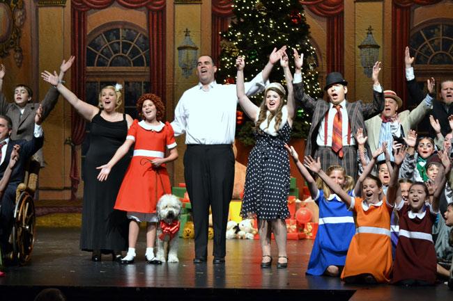 Musical Theatre of Anthem. 2012. Annie. (Photo credit unknown)
