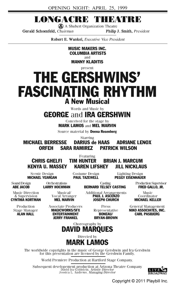 Fascinating Rhythm   4/19